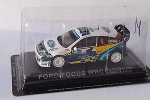 【送料無料】模型車 モデルカー スポーツカーフォードフォーカス#ラリーメキシコaltaya has ford focus wrc 4 rally mexico 2005 143