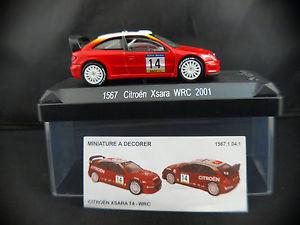 【送料無料】模型車 モデルカー スポーツカーシトロエンクサララリーボックスsolido 1567 citroen xsara wrc rally 2001 bugalski in box 143 mib