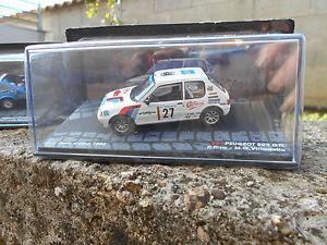 【送料無料】模型車 モデルカー スポーツカープジョーラリーエルバリーヴァスケールpeugeot 205 gtirally elba 1985p rivamg vittadello scale 1 43