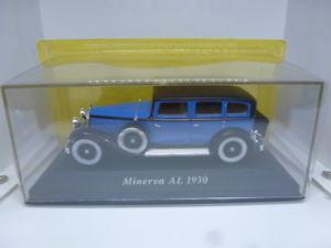 【送料無料】模型車 モデルカー スポーツカーミネルヴァアルminerva al 1930 143