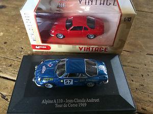 【送料無料】模型車 モデルカー スポーツカーアルパインロットレッドシリーズalpine a110 berlinette lot 143me andruet and state tb red series