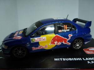 【送料無料】模型車 モデルカー スポーツカーラリーモンテカルロランサーエボアイグナーrallye montecarlo 2007 mitsubishi lancer evo ix aignerwicha 143
