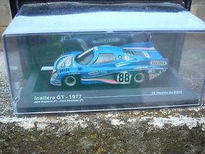 【送料無料】模型車 モデルカー スポーツカールマングアテマラスケールle mans inaltera gt1977 ragnottirondeau scale 1 43