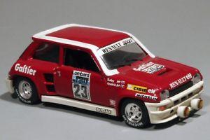 【送料無料】模型車 モデルカー スポーツカールノーターボサビーsolido renault r5 turbo galtier rac saby 143
