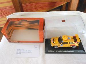 【送料無料】模型車 モデルカー スポーツカーダカールシトロエンラリーボックスバタネンダカールnorev dakar citron zx rally raid vatanenberglund dakar 1991 in box