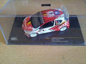 【送料無料】模型車 モデルカー スポーツカー#プジョーラリーモンテカルロロイクスネットワークpeugeot 207 s2000 4, rally monte carlo loixsmets 2009 ixo 143