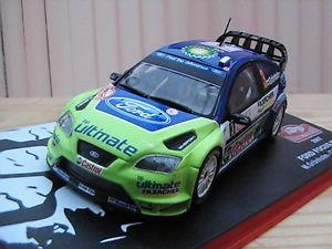 【送料無料】模型車 モデルカー スポーツカーフォードフォーカスラリーモンテカルロ#;ford focus wrc 034;rallye montecarlo039; 2007 143 th