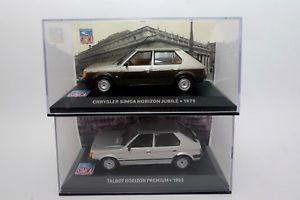 【送料無料】模型車 モデルカー スポーツカーホライゾンホライゾンtalbot horizon 1983 simca horizon jubile 1979 143 altaya