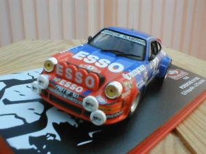 【送料無料】模型車 モデルカー スポーツカーポルシェラリーモンテカルロ#porsche 911 sc 034;rallye montecarlo034; frquelin 1982 143 eme