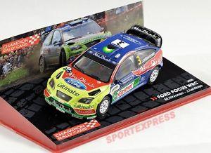 【送料無料】模型車 モデルカー スポーツカーフォードフォーカスオイルラリー# 143 ford focus wrc, neste oil rally 2008 hirvonenlehtinen 3
