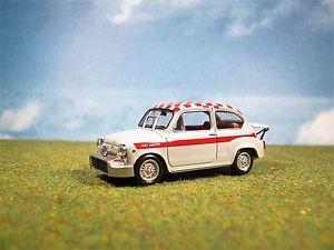 【送料無料】模型車 モデルカー スポーツカーフィアットアバルト##** fiat abarth 1000 1966 143 4 **