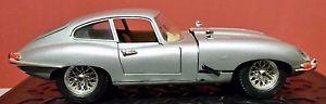 【送料無料】模型車 モデルカー スポーツカーモデルジャガー#;#model car burago jaguar 034;e034; 1961