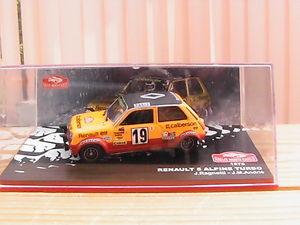 【送料無料】模型車 モデルカー スポーツカールノーアルパインジャン#モンテカルロ#ラリーrenault 5 alpine jean ragnotti 034;rally of monte carlo034; 1978 143 th