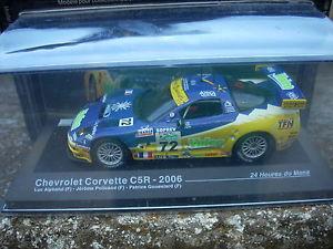 【送料無料】模型車 モデルカー スポーツカールマンシボレーコルベットスケールle mans chevrolet corvette c5r2006 alphand policandgoueslardscale 1 43