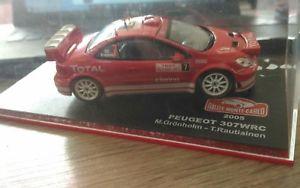 【送料無料】模型車 モデルカー スポーツカープジョーグロンホルムラリーモンテカルロpeugeot 307 wrc gronholm rally monte carlo 2005 143
