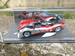 【送料無料】模型車 モデルカー スポーツカーアウディサーキットデラサルトルマンスケールaudi r 15 tdi 78 circuit de la sarthe 24h le mans 2010scale 1 43