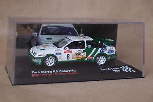 【送料無料】模型車 モデルカー スポーツカーネットワークフォードシエラコスワース#ツールドコルスixo altaya ford sierra rs cosworth 8 tour de corse 1988 143