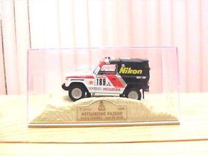 【送料無料】模型車 モデルカー スポーツカーパジェロダカールラリー#;#;mitsubishi pajero dakar034;034; 1985 143 th