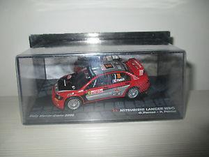 【送料無料】模型車 モデルカー スポーツカーランサーモンテカルロラリースケールmitsubishi lancer wrc monte carlo rally 2005 scale 143
