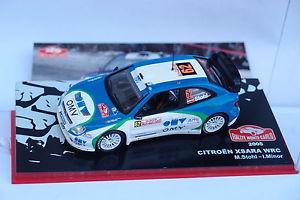 【送料無料】模型車 モデルカー スポーツカーネットワークシトロエンクサラ#モンテカルロixo altaya citroen xsara wrc 62 monte carlo 2005 143
