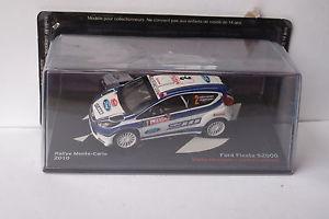 【送料無料】模型車 モデルカー スポーツカーフォードフィエスタ#モンテカルロaltaya ford fiesta s2000 2 monte carlo 2010 143