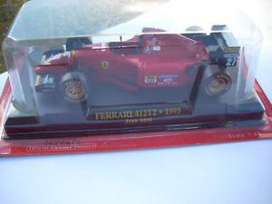【送料無料】模型車 モデルカー スポーツカーフェラーリジャンアレジスケールferrari 412t2 1995 jean alesi 1 43 scale