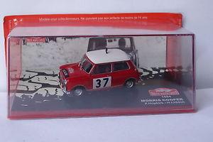 【送料無料】模型車 モデルカー スポーツカーネットワークモーリスクーパーモンテカルロ#ixo altaya morris cooper monte carlo 37 1964 143