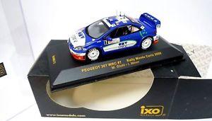 【送料無料】模型車 モデルカー スポーツカープジョーモンテカルロラリーマイナネットワークpeugeot 307 wrc 7 rallye monte carlo 2006stohlminorixo 143