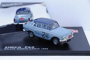 【送料無料】模型車 モデルカー スポーツカーモンテカルロボックスオンsimca p60 monte carlo 1959 norev 143 in box
