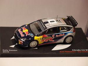 【送料無料】模型車 モデルカー スポーツカーネットワークシトロエンラリースウェーデンixo altaya citroen c4 wrc rally sweden 2010 143