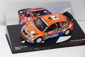 【送料無料】模型車 モデルカー スポーツカーネットワークフォードフォーカス#ラリーノルウェーixo altaya ford focus 6 rally norway 2009 143