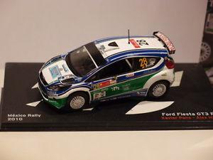 【送料無料】模型車 モデルカー スポーツカーネットワークフォードフィエスタグアテマラルピーメキシコラリーixo altaya ford fiesta gt3 rs mexico rally 2010 143
