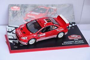 【送料無料】模型車 モデルカー スポーツカーネットワークプジョー#モンテカルロixo altaya peugeot 307 wrc 8 monte carlo 2006 143