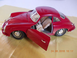 【送料無料】模型車 モデルカー スポーツカーポルシェburago porsche 356 b 1961 118 red