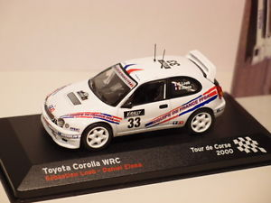 【送料無料】模型車 モデルカー スポーツカーネットワークトヨタカローラツールドコルスixo altaya toyota corolla wrc tour de corse 2000 143