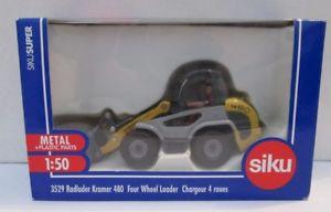 【送料無料】模型車 モデルカー スポーツカーホイールローダm92 150 four wheel loader 3529 siku