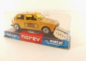 【送料無料】模型車 モデルカー スポーツカージェットカーゴルフボックスnorev jet car no 884 vw golf adac in box 143