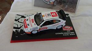 【送料無料】模型車 モデルカー スポーツカーシトロエンクサラモンテカルロラリーパイロットcitroen xsara xrc rallye monte carlo 2006 pilot d sordo and m marti