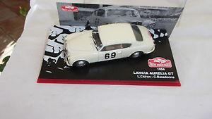 【送料無料】模型車 モデルカー スポーツカーランチアアウレリアモンテカルロラリーパイロットカイロンlancia aurelia gt rallye monte carlo 1954 pilot l chiron and basadonna