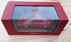 【送料無料】模型車 モデルカー スポーツカーフェラーリレーシングプレゼンテーションネットワークferrari f40 racing presentation 143 ixo