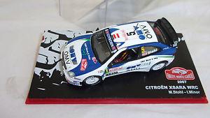 【送料無料】模型車 モデルカー スポーツカーシトロエンクサララリードモンテカルロcitroen xsara wrc rallye de monte carlo 2007