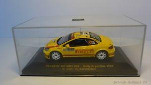 【送料無料】模型車 モデルカー スポーツカーネットワークラムプジョー#ラリーアルゼンチンixo 143 ram246 peugeot 307 25 rally argentina 2006 24726
