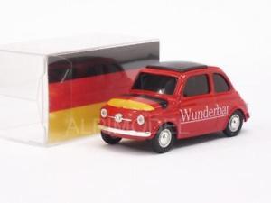 【送料無料】模型車 モデルカー スポーツカーフィアットfiat 500 brums deutschland 143 brumm br058