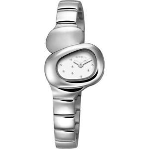 【送料無料】レディオーバルクォーツホワイトクリスタルウォッチbreil orologio donna stone tw1207 quarzo ovale cristalli bianchi brillantini