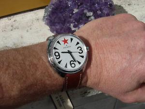【送料無料】オートメンズビンテージウォッチvery fine unworn oversize dilker automatic mens vintage watch uhr montre reloj