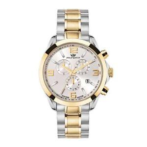 【送料無料】フィリップクロノグラフウォッチスイスゴールドorologio philip watch blaze r8273665002 uomo cronografo watch swiss bicolore oro