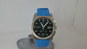 【送料無料】ウォッチステルスヘブンリーブラックシリコンスチールエンドプレートチタンウォッチorologio locman stealth 202 celeste nero acciaio silicone fondello titanio watch