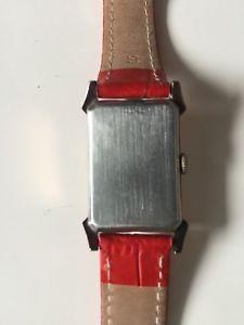 クロックビンテージorologio bulova vintage laminato oro anni 40