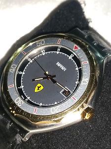 シールドスクーデリアフェラーリビンテージデザインウォッチorologio rare watch scudo scuderia ferrari f1 vintage design