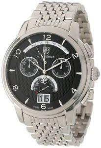 【送料無料】クロノグラフscoifman sc0184 orologio da polso, display display cronografo, uomo, w7n